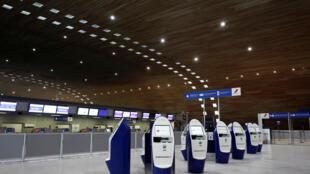 -CORONAVIRUS-AIRFRANCE- FRANCE - AEROPORT CDG