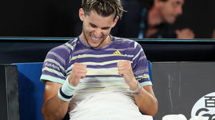 Dominic Thiem advanced to his first Australian Open semi-final after beating Rafael Nadal for the first time at a Grand Slam tournament.