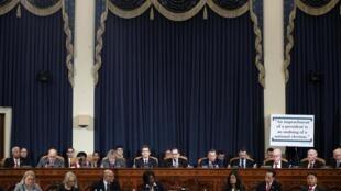 Les membres de la commission judiciaire de la chambre des représentants, le 4 décembre au Capitole à Washington