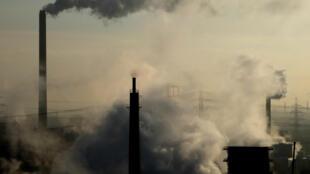 A cidade de Bottrop, no oeste da Alemanha, um dos países que não respeita o teto de poluição atmosférica e pode ser punido pela UE.