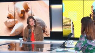 Carina Rutgerson durante el programa Escala en París. 20 de marzo de 2019.