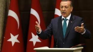 El primer ministro turco, Recep Tayyip Erdogan.