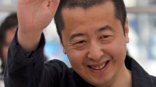 Jia Zhangke, au Festival de Cannes, pour son film «A Touch of Sin», le 17 mai 2013.