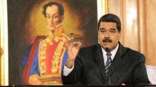 Nicolas Maduro, le président du Venezuela.