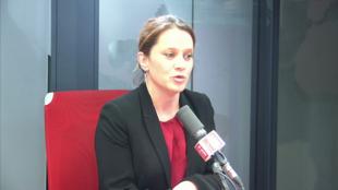 Célia de Lavergne sur RFI le 24 février 2020.