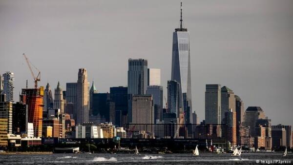 紐約遠眺一景