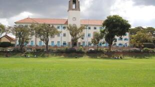 Le campus principal de l'université Makerere, à Kampala, en Ouganda.