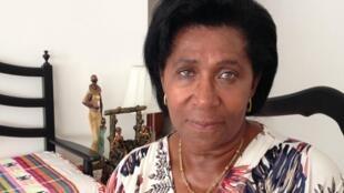 Zinha Vaz, coordenadora do Conselho Nacional das Mulheres da Guiné-Bissau