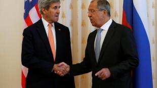 Встреча Сергея Лаврова и Джона Керри в Женеве, 9 сентября 2016.
