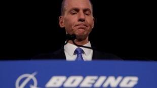 Dennis Muilenburg a démissionné de la présidence de Boeing suite à la crise du 737 MAX.