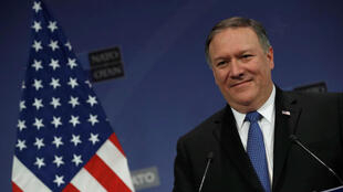 """Mike"" Pompeo, secretário de Estado norte-americano"
