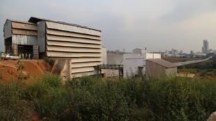 Une vue générale de la cimenterie Diamond Cement Congo à Mindouli, dans la région du Pool.