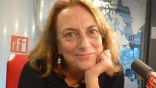 La actriz Lola Casamayor en los estudios de RFI