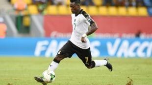 Christian Atsu, avançado do Gana.