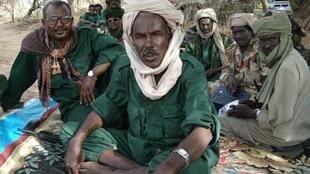 General Mahamat Nouri, leader of the Chadian rebel Union of Forces for Democracy and Development.