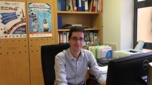 Anh Florent Ménard, phụ trách Campus France tại Việt Nam.