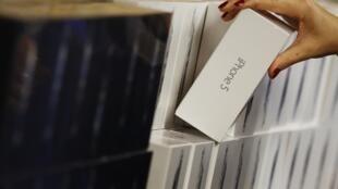 Iphone 5 chega as lojas nesta sexta-feira (21) em vários países do mundo. Na foto a loja de Convent Garden em Londres.