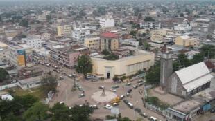 Vue de Brazzaville, capitale du Congo. (image d'illustration)