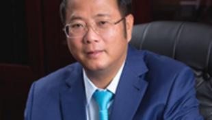曾任澳洲中国和平统一促进会会长的华裔富豪黄向墨。图片取自澳洲中国和平统一促进会网站。拍摄年代不详。