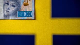 Un billet de 100 couronnes suédoises.