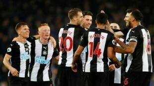 'Yan wasan kungiyar kwallon kafa na Newcastle