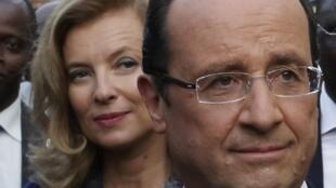 លោកស្រី Valérie Trierwieler ជាគូជីវិតផ្លូវការរបស់ប្រធានាធិបតីបារាំង លោក François Hollande