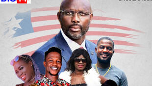 "Liberia President George Weah just dropped a new single, ""Let stand together and fight Coronavirus"""