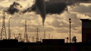 Торнадо в Калифорнии 26/03/2014