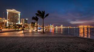 Vue du centre ville de Luanda, la capitale de l'Angola (photo d'illustration).