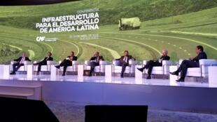 """Seminário """"Infraestrutrura para o desenvolvimento da América Latina"""", em Buenos Aires."""