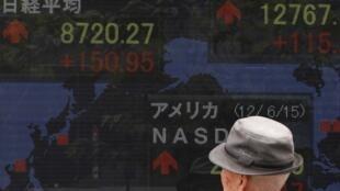 東京股市日經指數報道圖