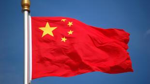 圖為中國國旗