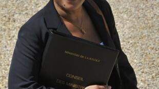 A ministra francesa da Justiça, Christiane Taubira, apresenta seu projeto de lei sobre o assédio sexual no trabalho nessa quarta-feira.