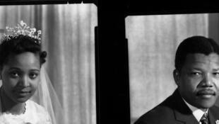 Winnie et Nelson, le jour de leur mariage, Juin 1958. Copyright © Eli Weinberg, University of Western Cape – Robben Island. Museum Mayibuye Archives.