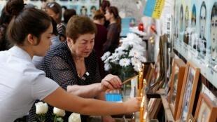 В Беслане начались траурные мероприятия по случаю 15-й годовщины захвата заложников в школе № 1