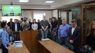 Судебное заседание по делу «Нового величия», 24 октября 2019 г.