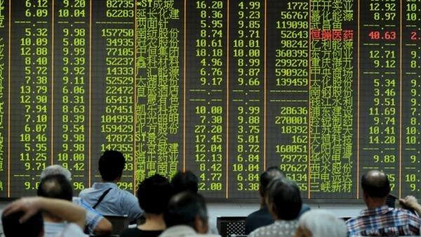 上海股市慘綠,年跌幅近23 %