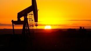 Una bomba de extracción de petróleo en Tioga, en Dakota del Norte (EEUU), fotografiada el 21 de agosto de 2013