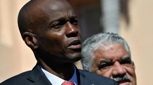 Le président haïtien Jovenel Moïse.