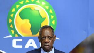 Le Camerounais Issa Hayatou, ancien président de la CAF