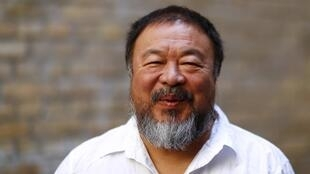 Dissident Chinese artist Ai Weiwei  in Berlin, Germany last year
