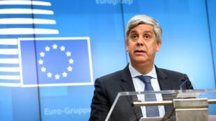 Mário Centeno,ministro das Finanças de Portugal e presidente do Eurogrupoo