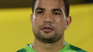 Aymen Mathlouthi lors de la CAN 2015.