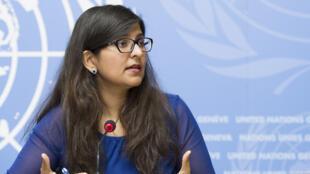 A porta-voz para Direitos Humanos da ONU, Ravina Shamdasani, denuncia a nova legislaçéao de Brunei.penda execuções. Foto do 07/09/18
