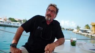 Nhà triệu phú người Mỹ John McAfee tuyên bố ra tranh cử tổng thống Mỹ 2020 từ La Havane, nơi ông neo đậu du thuyền.