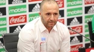 Djamel Belmadi is trying to steer Algeria to its first continental crown since 1990.