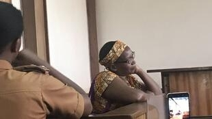 Dr. Stella Nyanzi in court in Kampala on March 20th, 2019