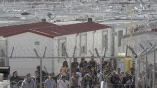 Surnommé le «Guantanamo grec», le centre d'Amygdaleza se compose de containers où s'entassaient des milliers de migrants dans des conditions insoutenables.