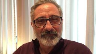 """O cineasta brasileiro Marcelo Gomes que concorre ao Urso de Ouro com """"Joaquim"""", na Berlinale."""