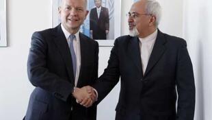 Además de entrevistarse el lunes con Ashton, Zarif también lo hizo con el  canciller británico William Hague, cuyo país tiene suspendidas sus relaciones  con Irán desde el saqueo a su embajada en 2011.